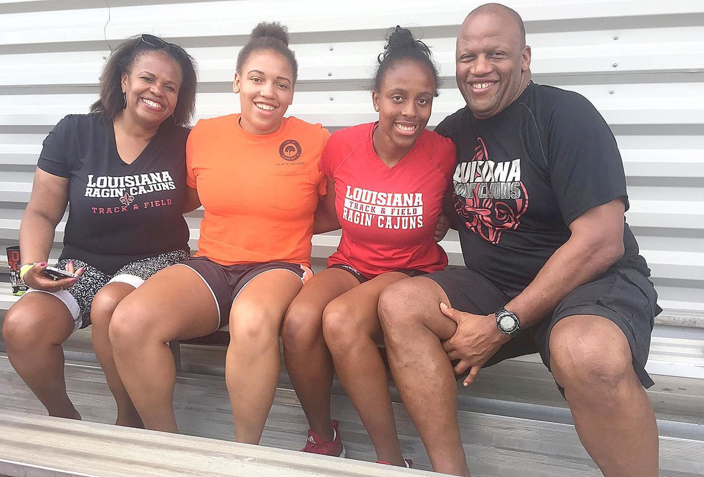 Terry Harrell family