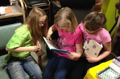 Reading, learning at St. Peter's