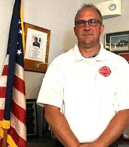 South Beloit Fire Chief Mike Davenport