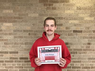 Rock County Christian Student of the Month