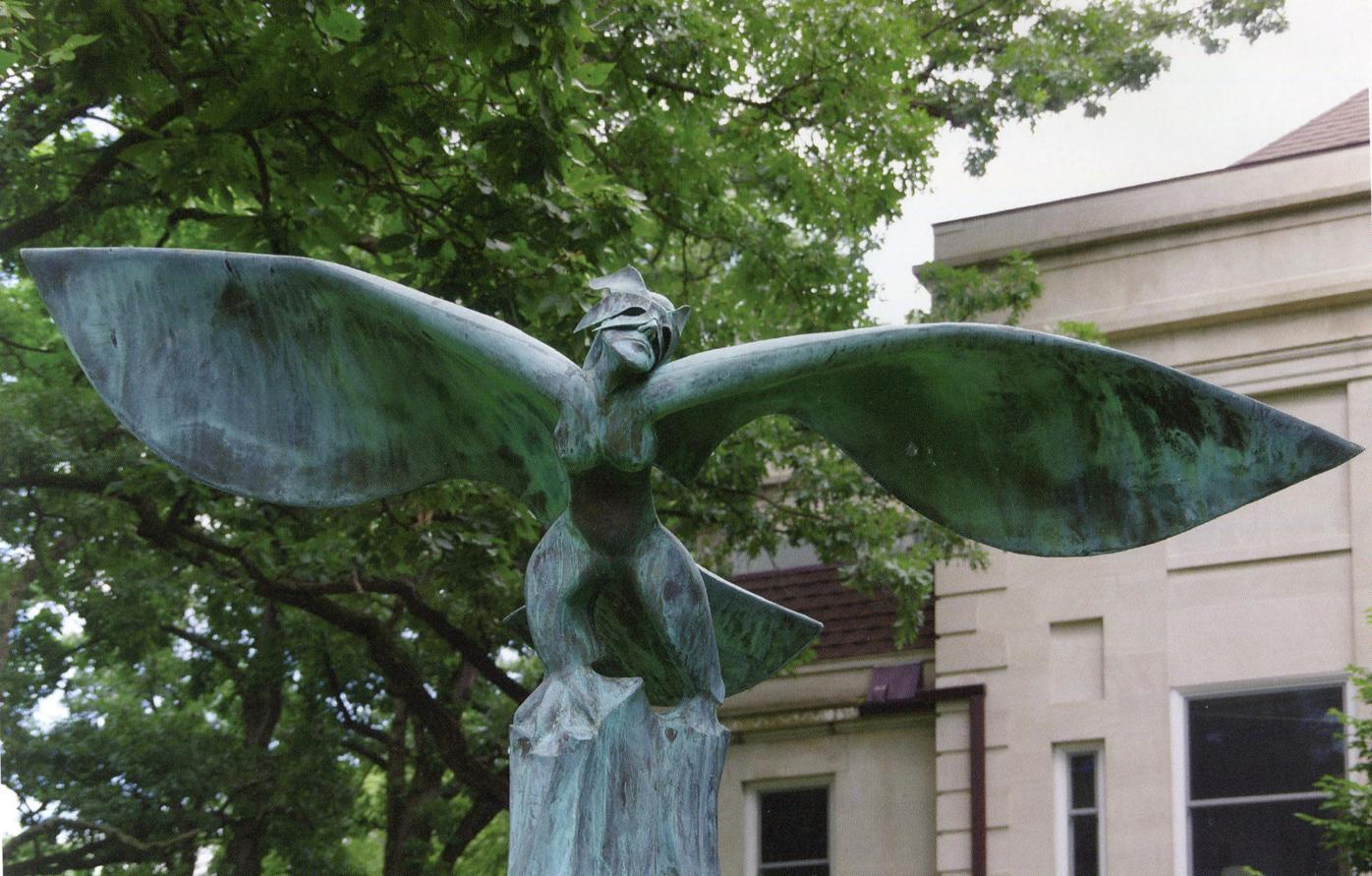 Siren sculpture