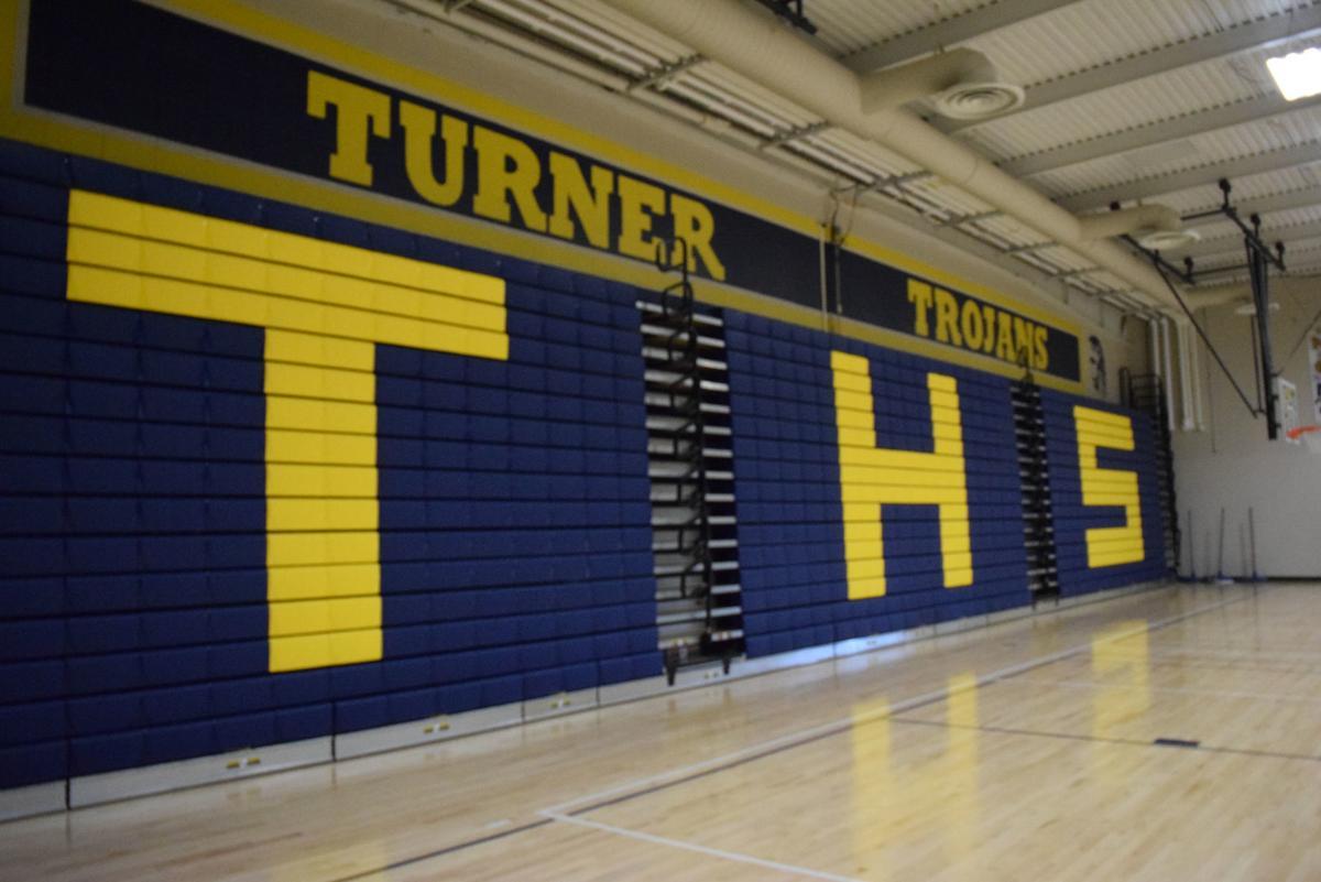 New bleachers in Turner High gym