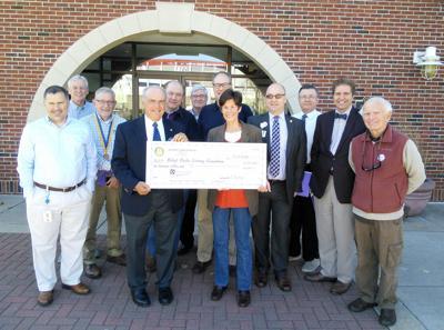 Rotary donates $10,000 toward libraryȁ9;s Blender Cafe