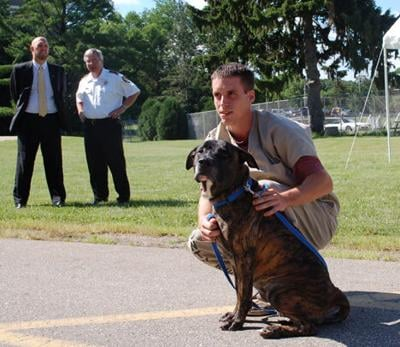 Jail inmates and unadoptable dogs learn from each other in program