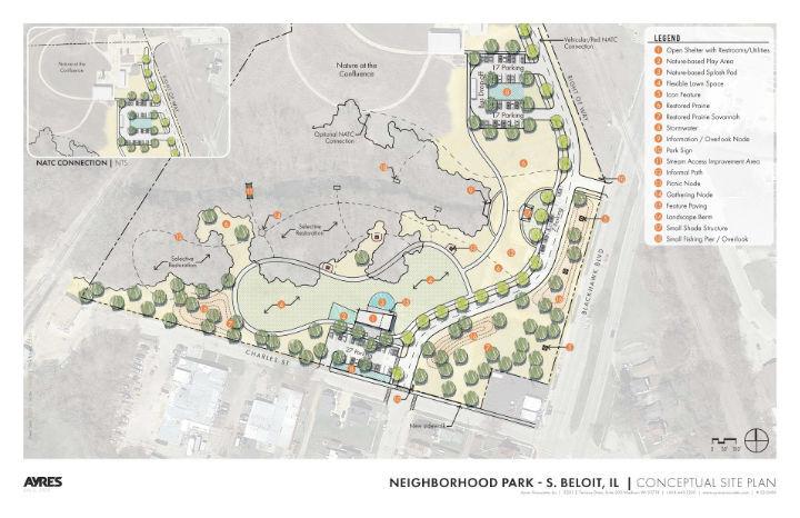 Park plans on display