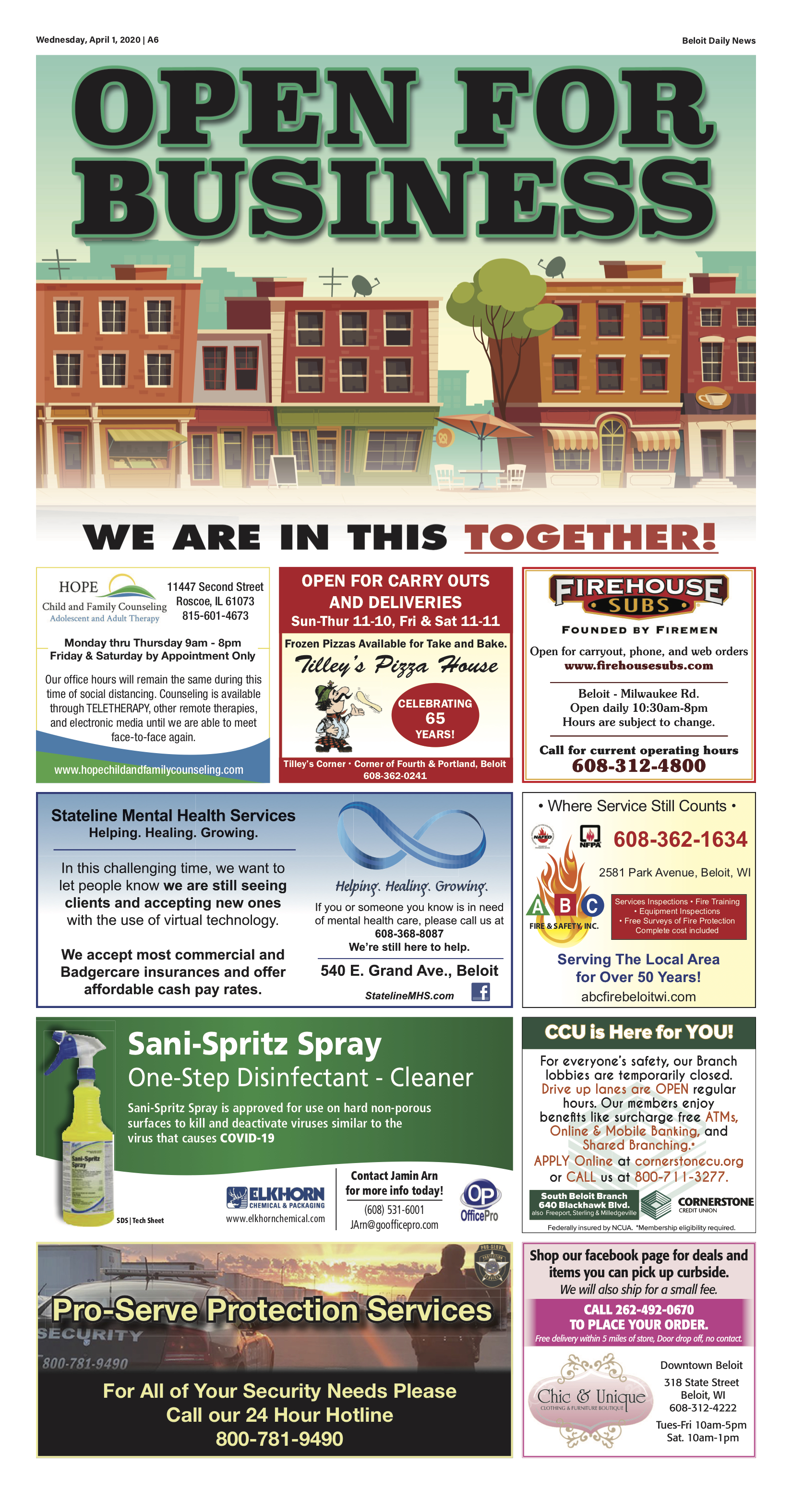 Open for Business Advertiser Page