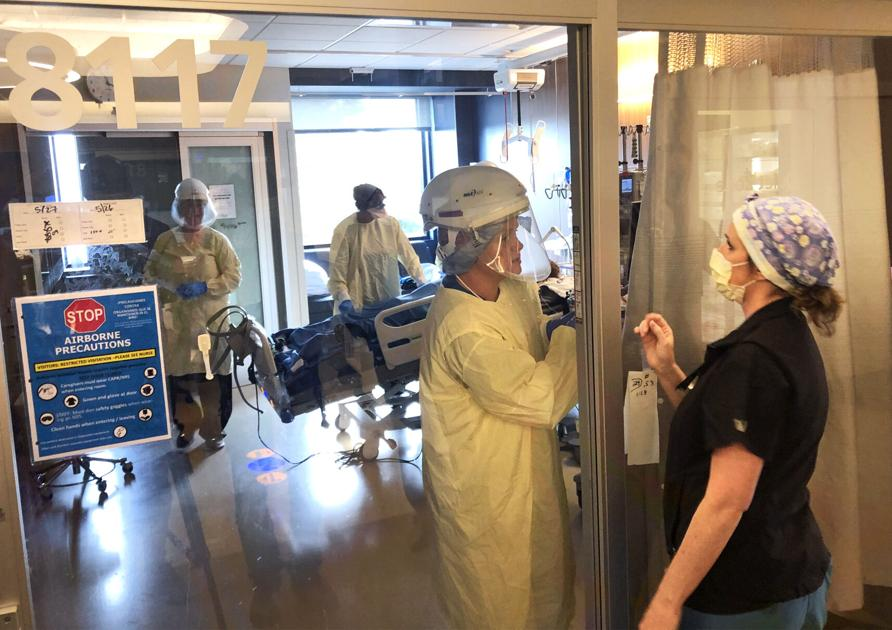 St. Charles Bend at capacity with COVID-19, trauma patients