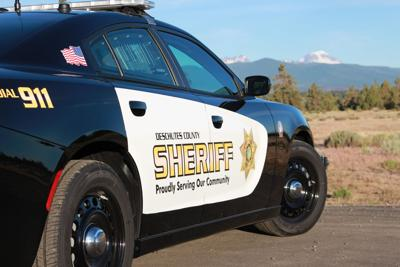 Deschutes County Sheriff's Office vehicle
