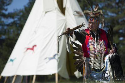 Salmon bake celebrates tribal traditions