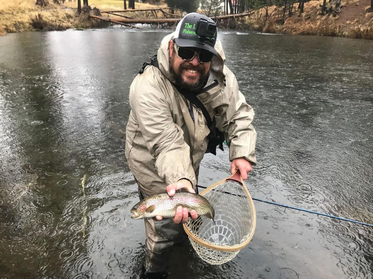 Fishing season is year-round in Central Oregon, and the Fall River