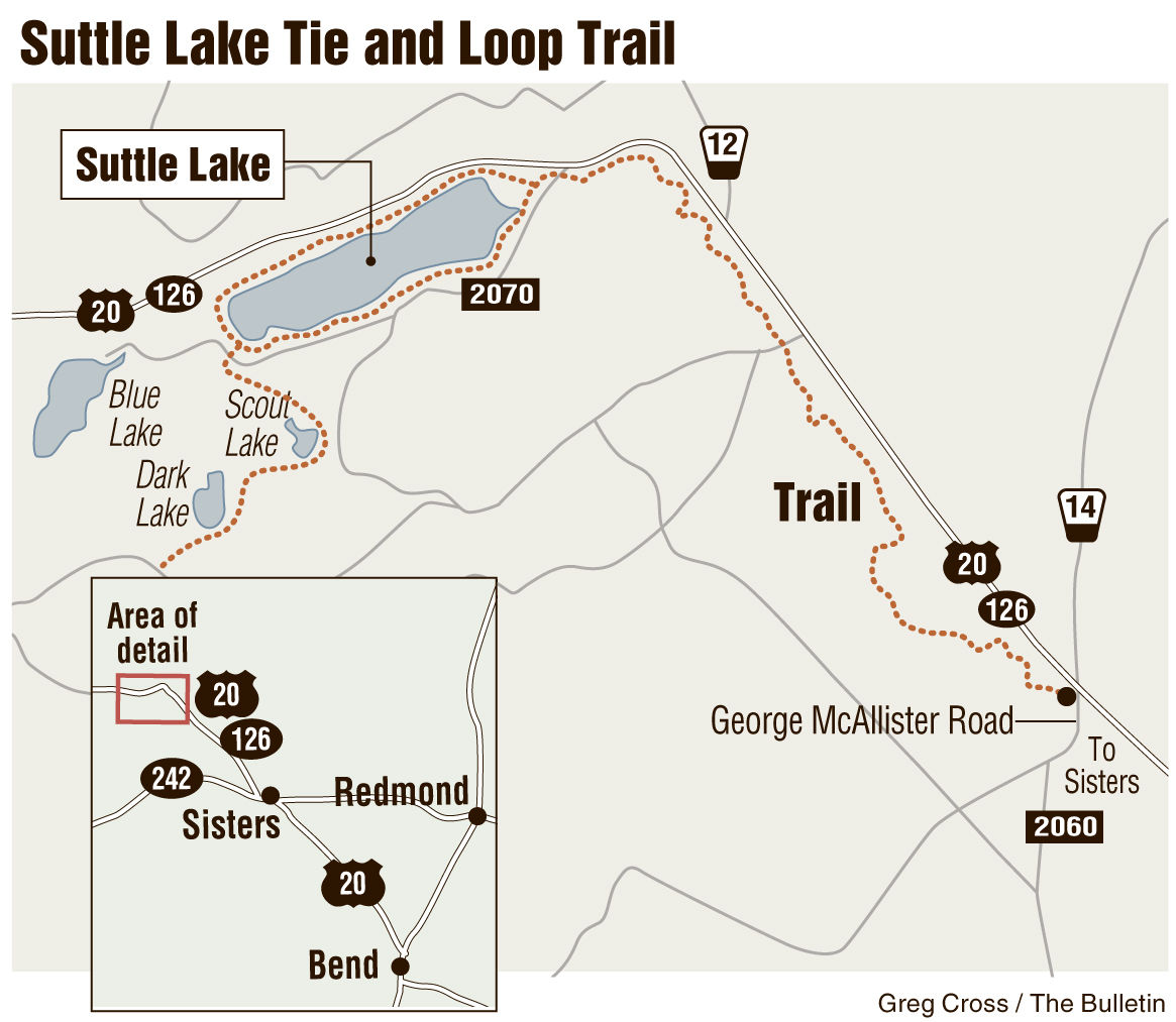 Mountain Bike Trail Guide: Suttle Lake Tie and Loop