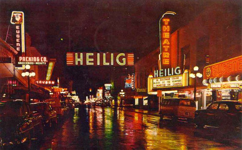Eugene: How it has changed in 50 years
