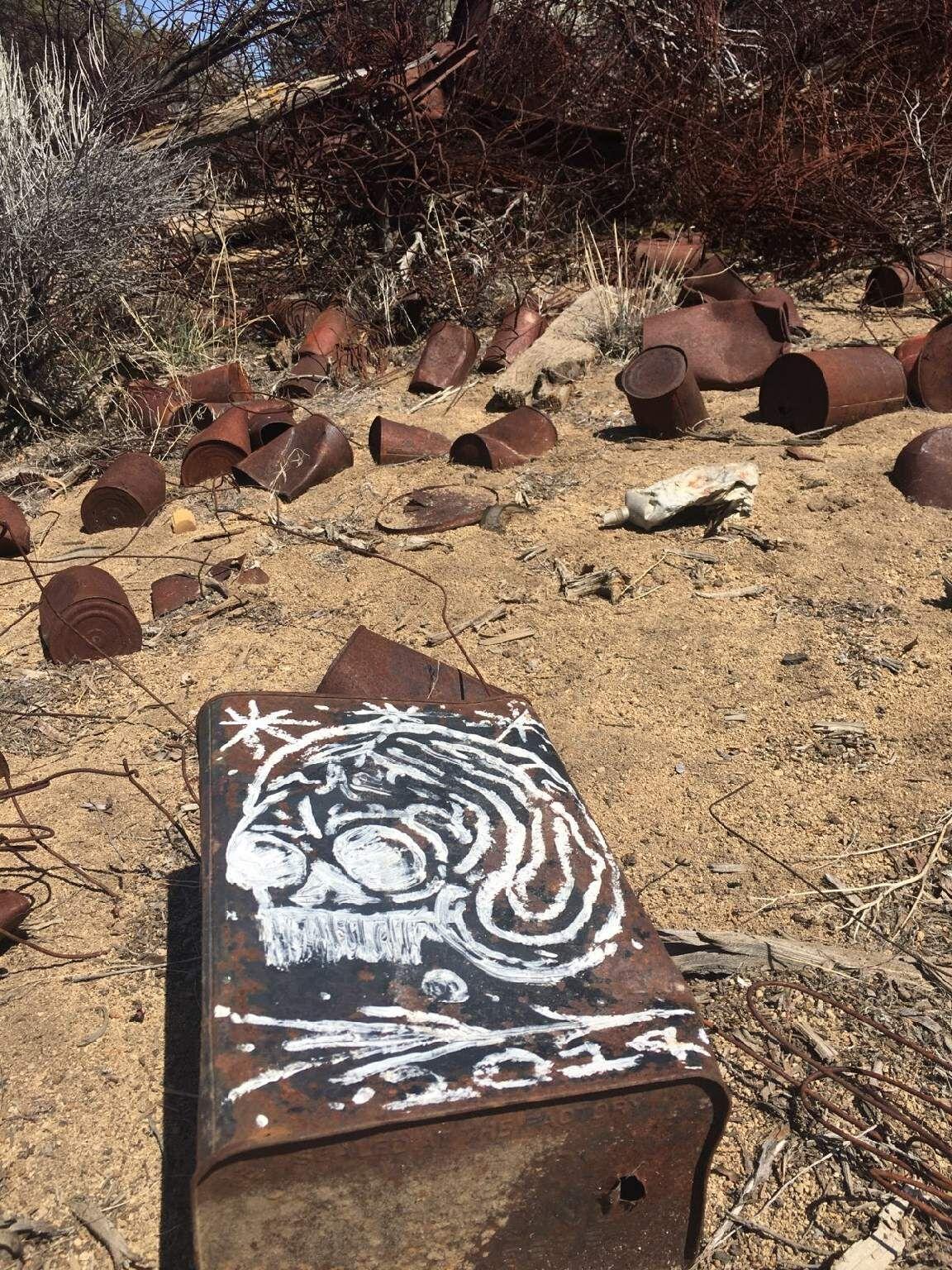 garbage midden chitwood trail