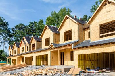 New Row House Construction