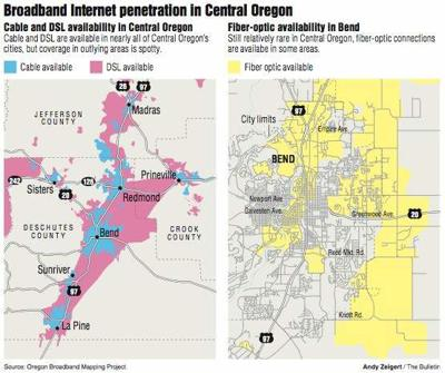 Oregon website all about broadband | Local&State ... on centurylink fiber map, at&t cable route map, internet backbone map, cable coverage map, centurylink high speed map, qwest fiber optic internet,