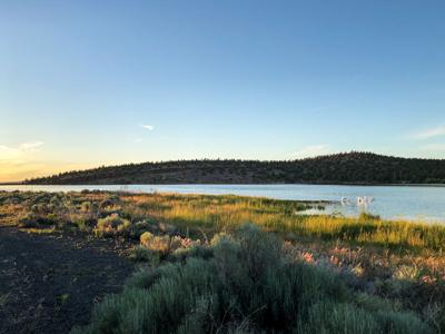 Camp out on the shores of Haystack Reservoir