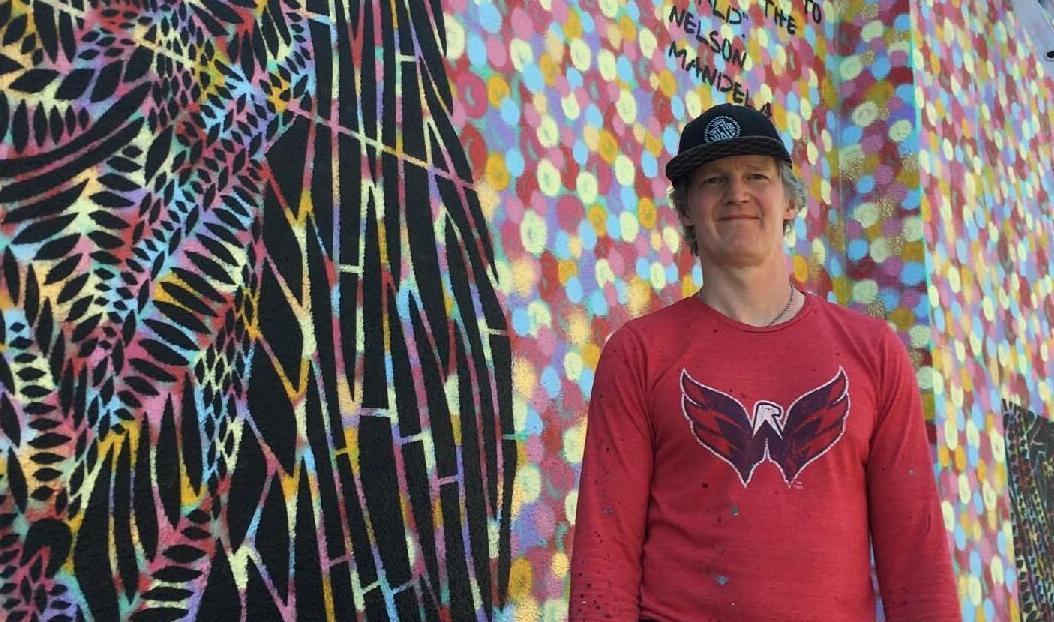 robertson mural deschutes brewery