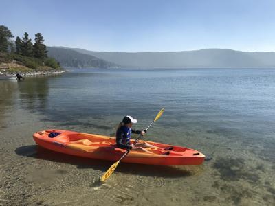 Kayaking East Lake