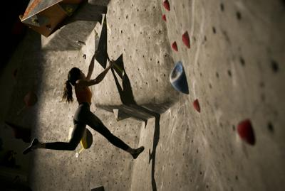 Central Oregon climbers flock to Bend Rock Gym to compete in Bend Boulder Bash (copy) (copy)