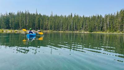 Where's Waldo: Finding Oregon's other deep blue gem