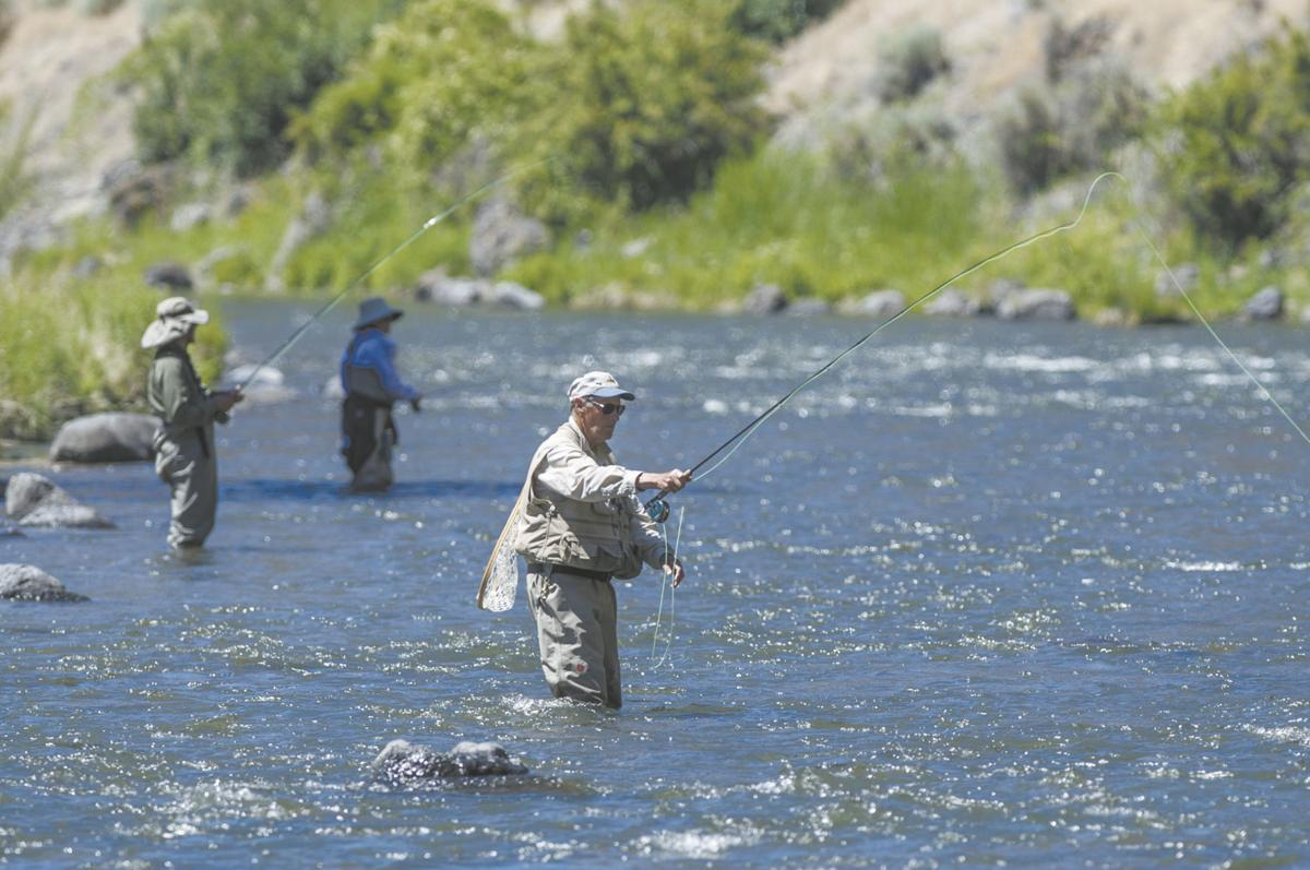 Trout numbers recovering in the Crooked River near Prineville