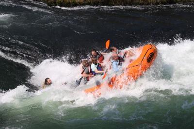 Maupin Rafting