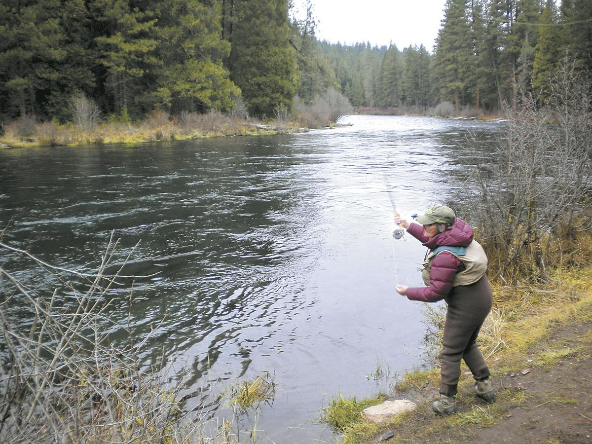 Fly-fishing the Metolius (copy)
