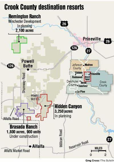 21++ Brasada ranch golf course map information