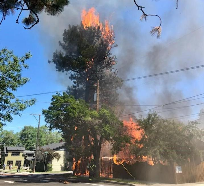bend fire florida avenue