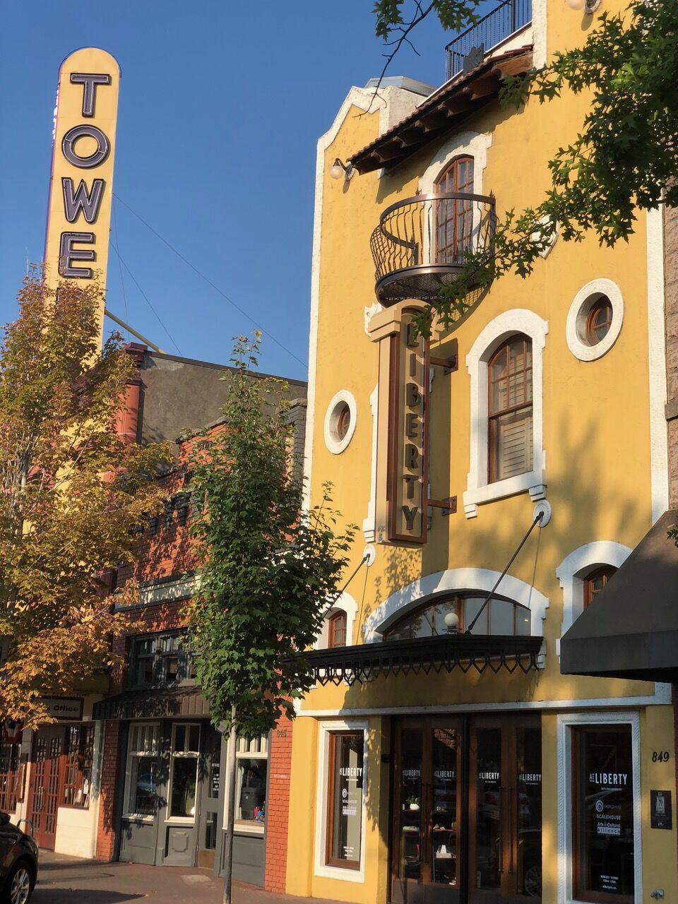liberty theater exterior