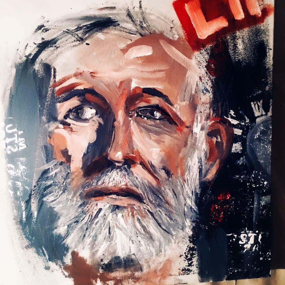 Featured artist: painter Nicola Carpinelli