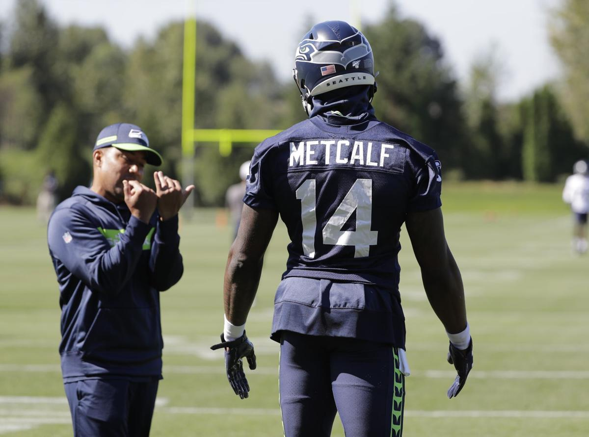 Seattle Seahawks Wide Receiver D K Metcalf Went Viral For His Muscles Sports Bendbulletin Com