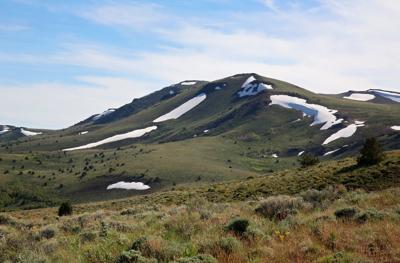 Warner Peak is the crest of Hart Mountain in southeast Oregon, reachable by a rugged, off-trail trek through the high desert wilderness.