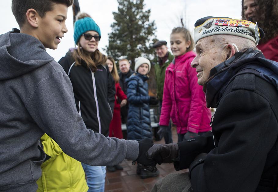 Pearl Harbor survivor honored in Bend