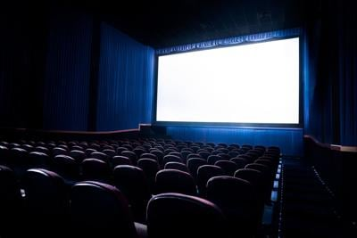 Movie theater screen