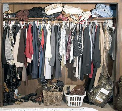 Organization begins in your cluttered closet | lifestyle ...