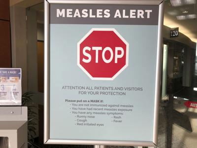 New measles cases prompt alert from health officials