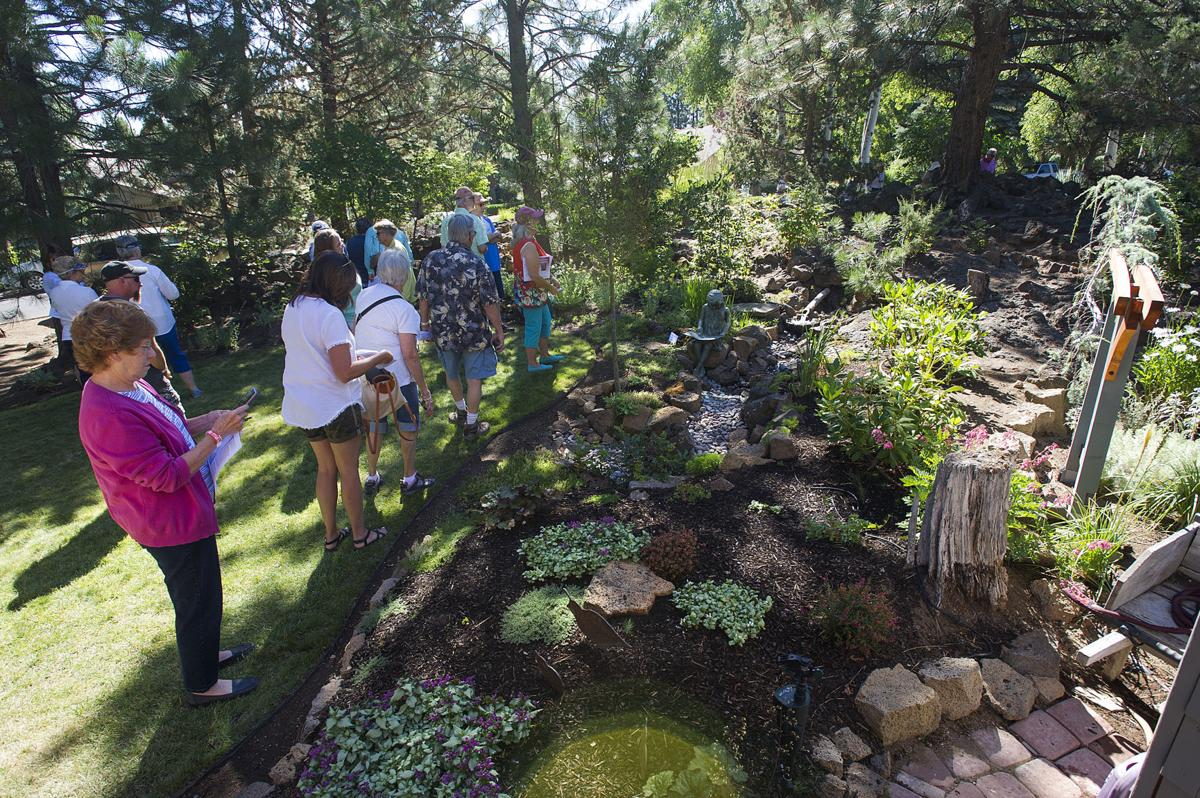 Homeowners show off their gardens during annual public tour