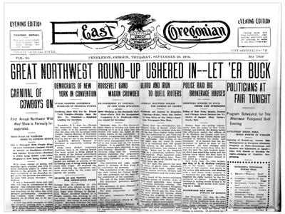 History Pub returns with talk on Oregon newspaper family