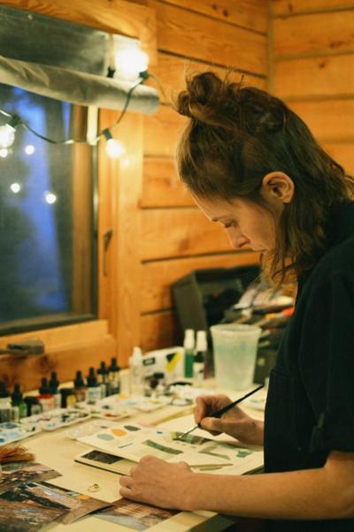 Sarah More Cabin 8