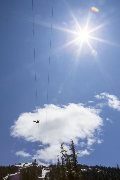 Zipline at Mt. Bachelor opens Saturday
