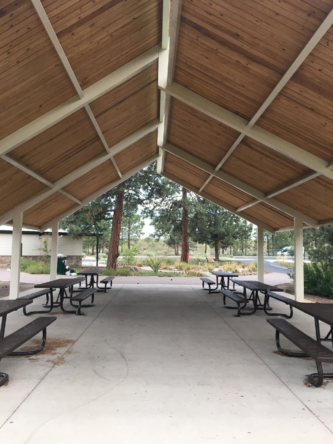 pavilion in ponderosa park