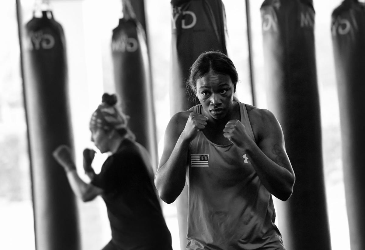 She keeps winning boxing titles. She is still fighting for visibility.