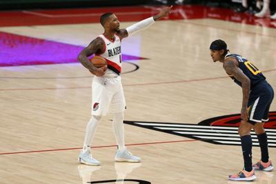Jazz Blazers Basketball - Damian Lillard - Dec. 23, 2020