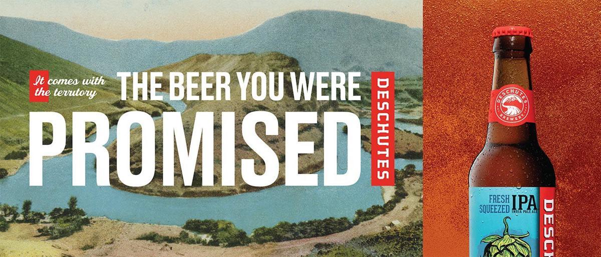 Deschutes Brewery ads speak to cannabis consumers