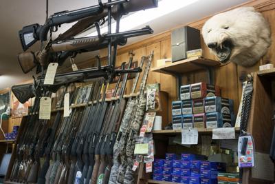 Gun sales slumped after Trump, with little rebound