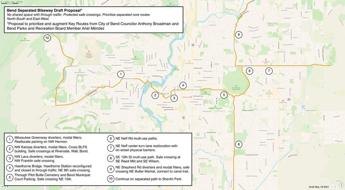 Bike paths proposed