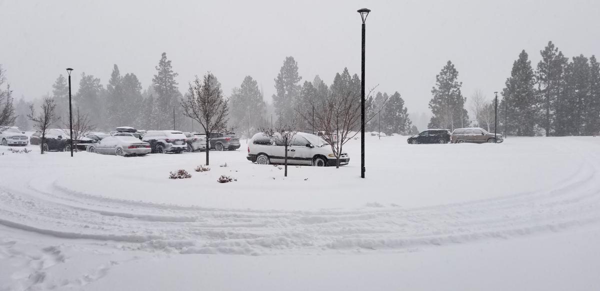 Bulletin parking lot