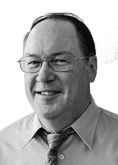 Gerry O'Brien mug; black and white