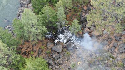 Deschutes River Canyon fire